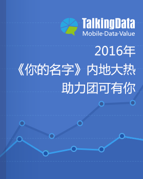 TalkingData-2016年《你的名字》内地大热,助力团可有你
